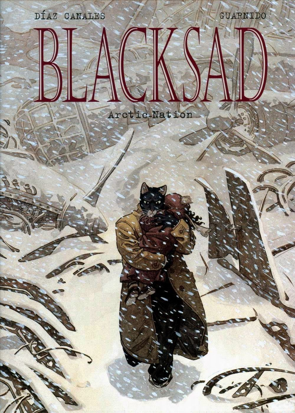 300 blacksad artic nation cover